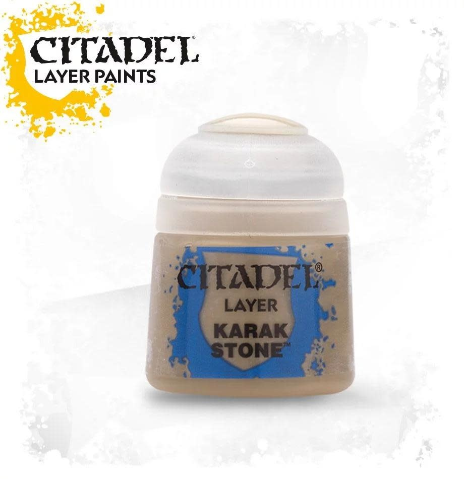 Games Workshop Citadel Paint Layer: Karak Stone