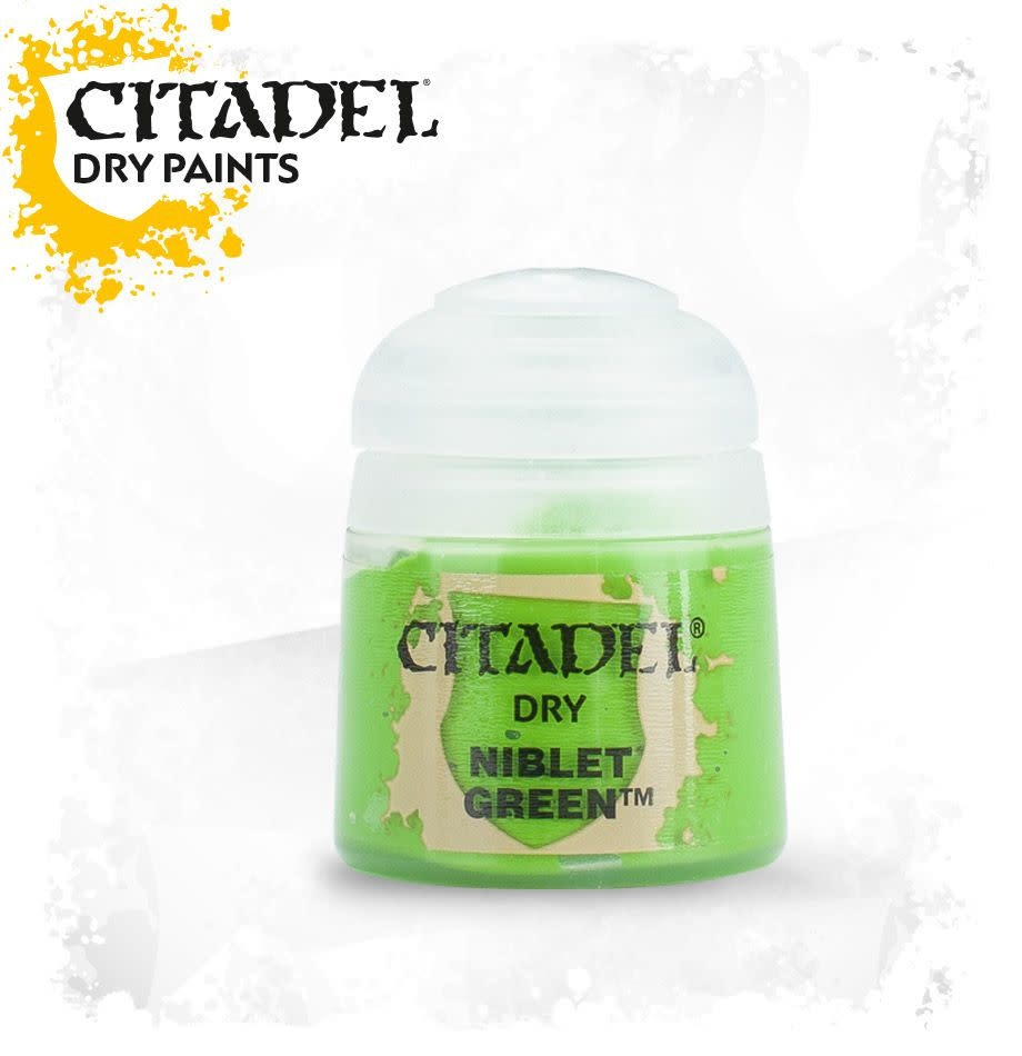 Citadel Paint Dry: Niblet Green