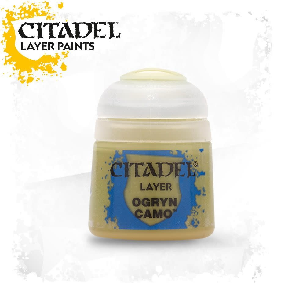 Citadel Paint Layer: Ogryn Camo