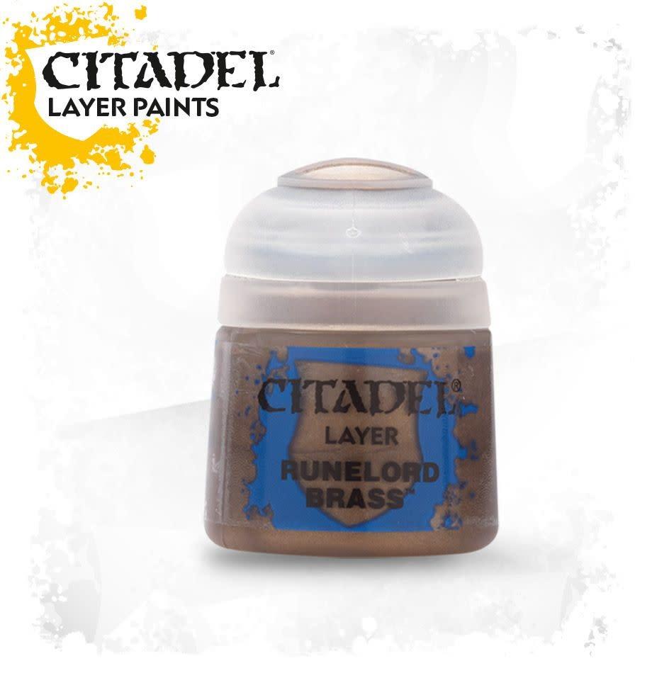 Citadel Paint Layer: Runelord Brass