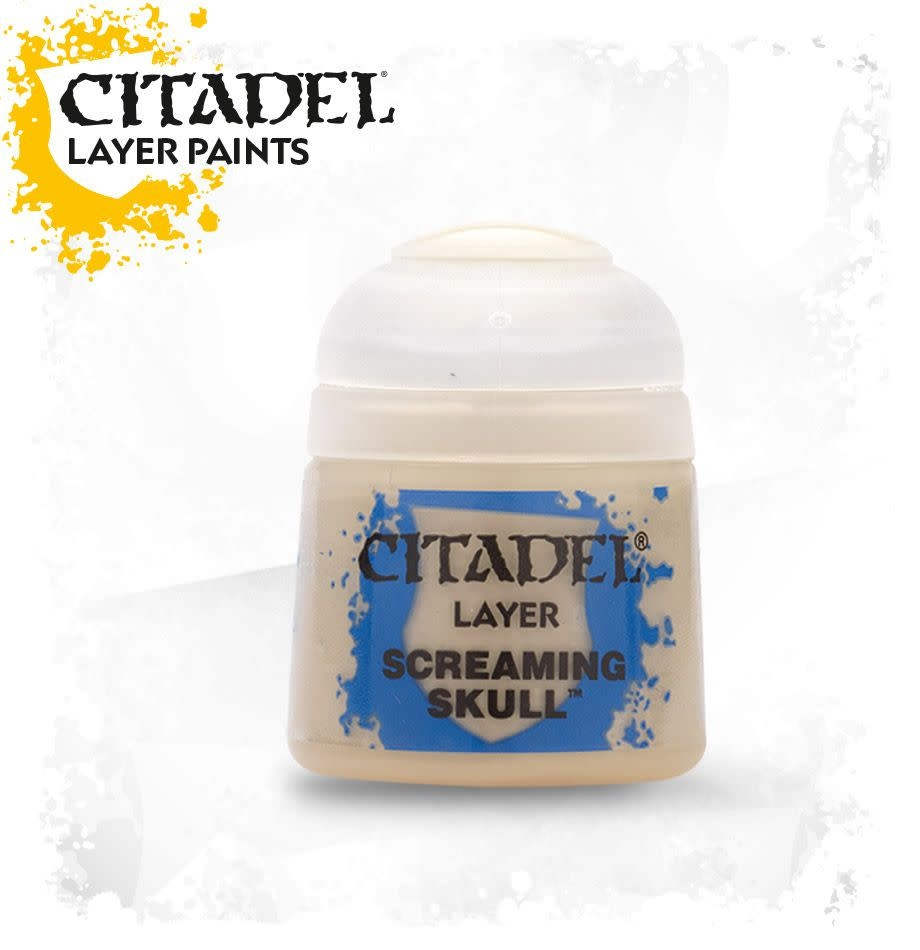Citadel Paint Layer: Screaming Skull