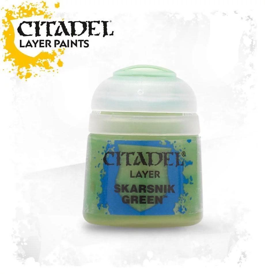 Citadel Paint Layer: Skarsnik Green