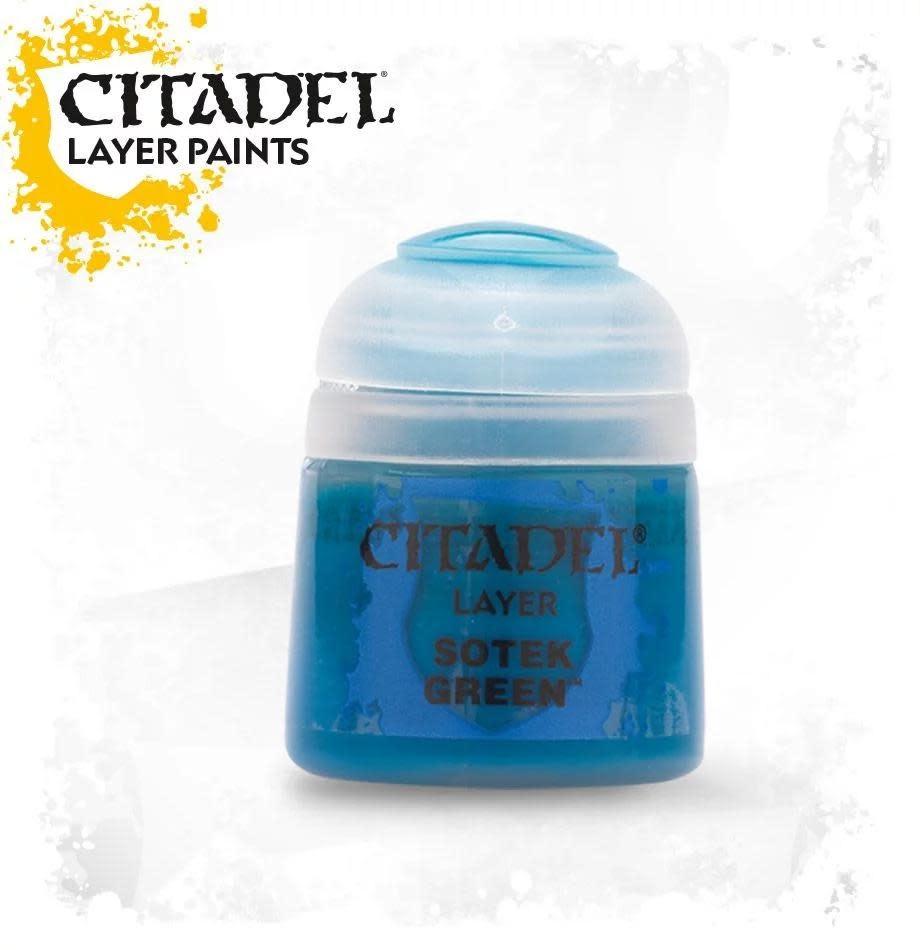 Citadel Paint Layer: Sotek Green
