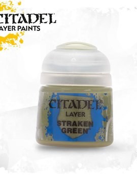 Games Workshop Citadel Paint Layer: Straken Green