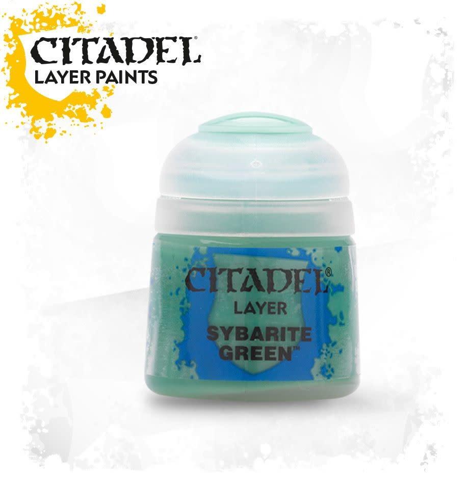 Citadel Paint Layer: Sybarite Green