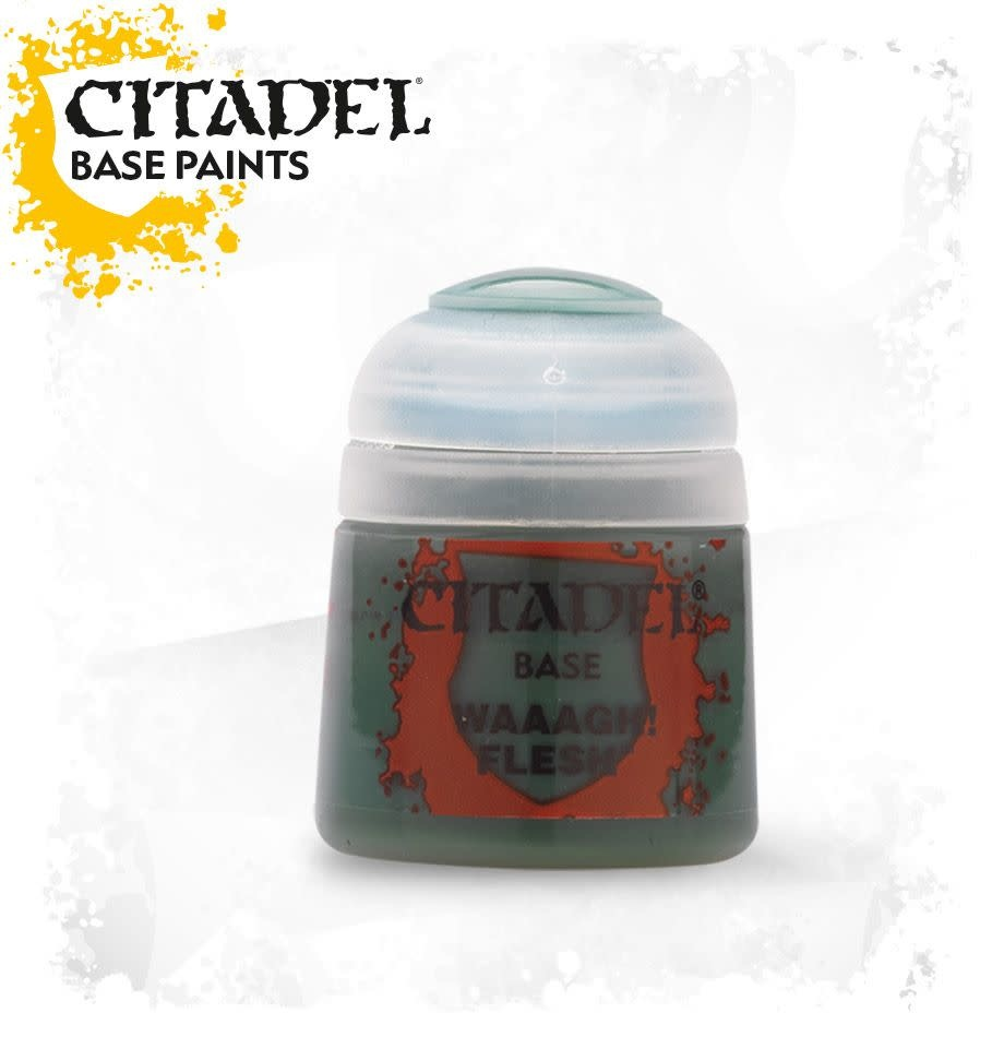 Citadel Paint Base:  Waaagh! Flesh