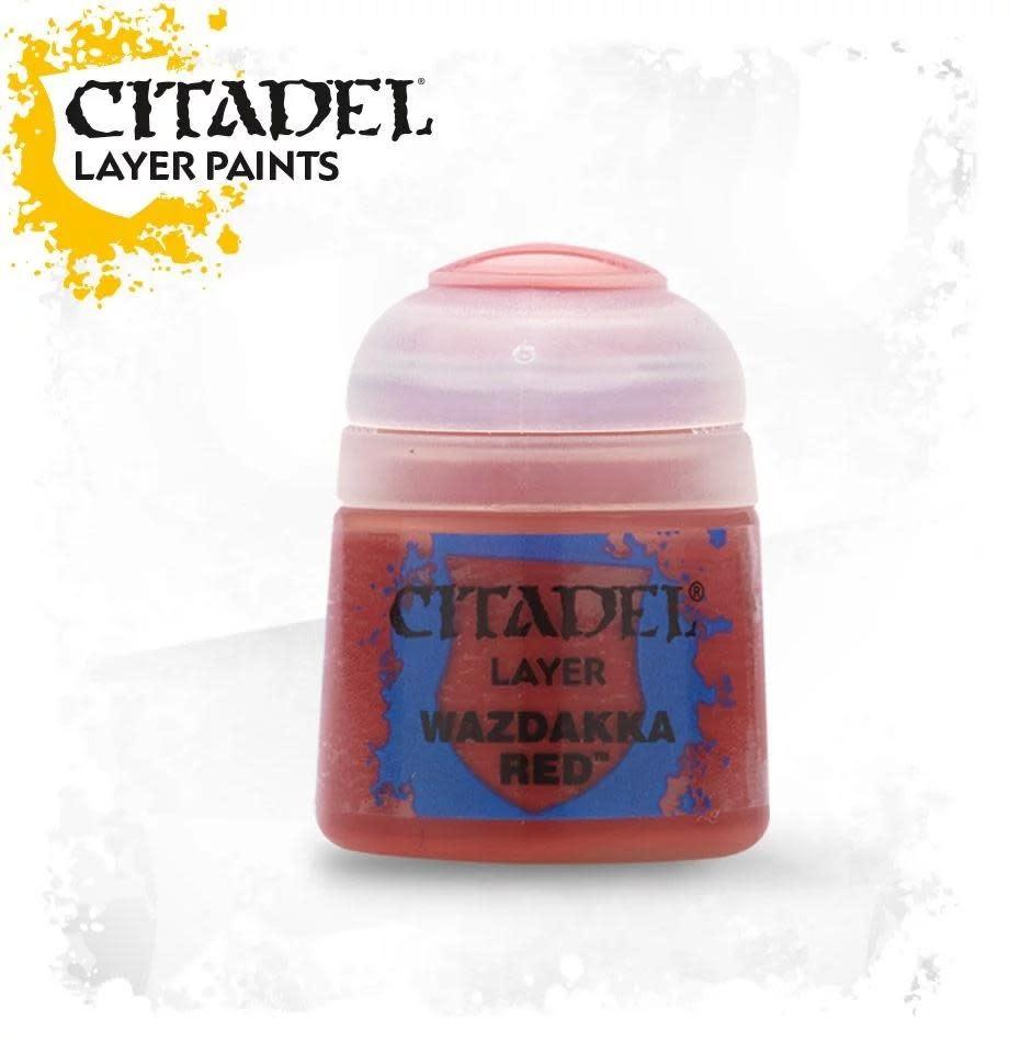 Citadel Paint Layer: Wazdakka Red
