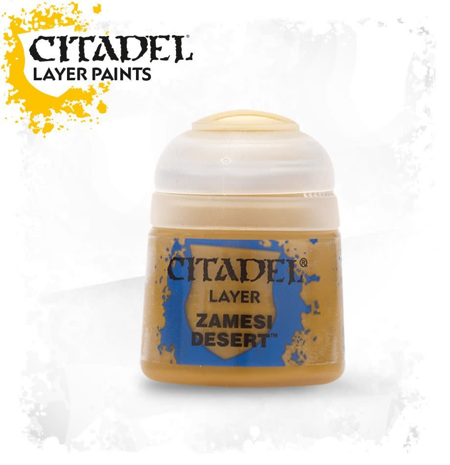 Citadel Paint Layer: Zamesi Desert
