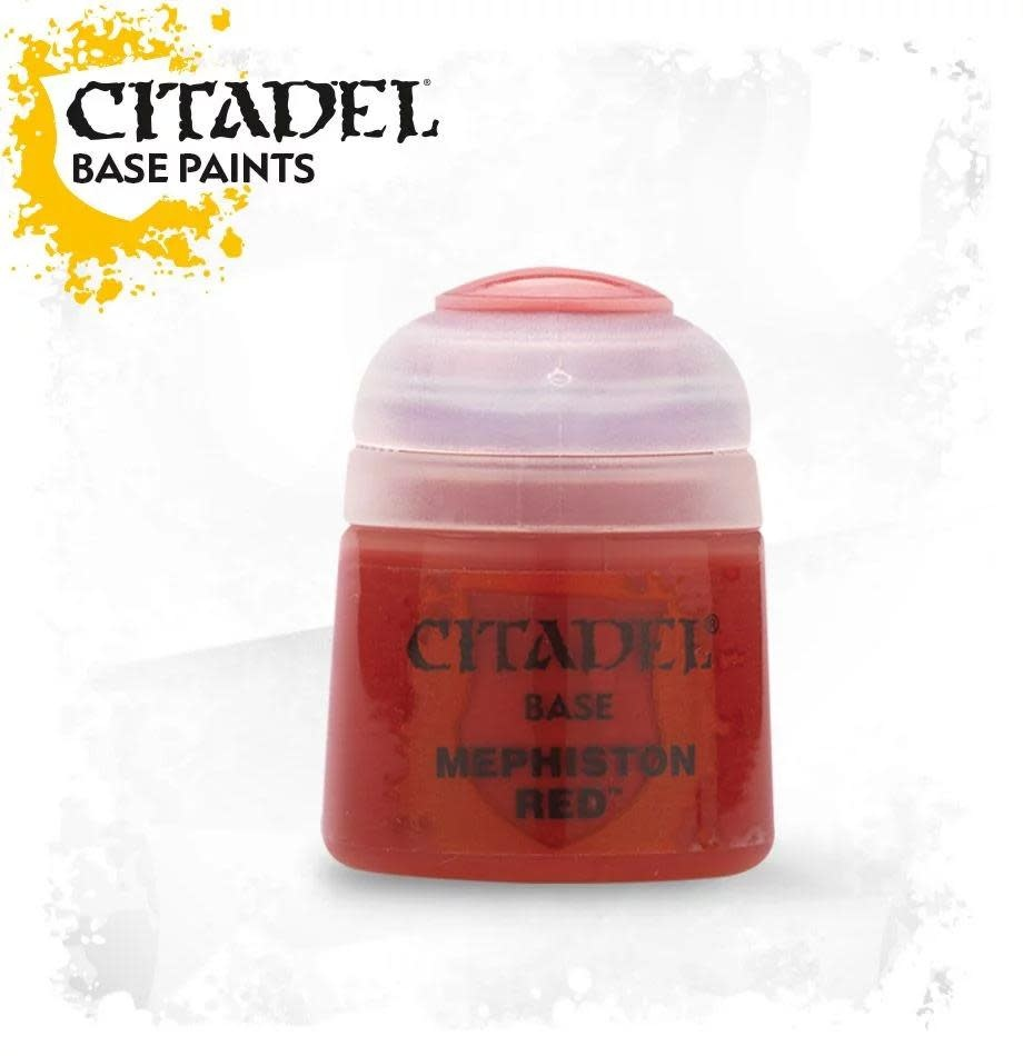Citadel Paint Base:  Mephiston Red