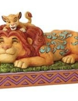 Disney Traditions The Lion King Simba and Mufasa A Father's Pride Statue by Jim Shore