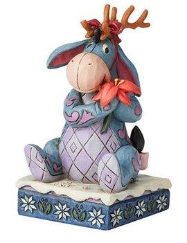 Disney Traditions Winnie the Pooh Eeyore Christmas Personality Winter Wonders by Jim Shore Statue