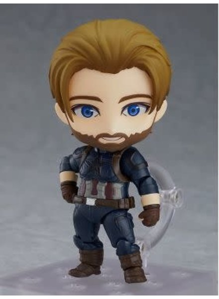 Good Smile Nendoroid Captain America: Infinity Edition DX Ver.