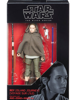 Hasbro Star Wars Black Series: Rey (Island Journey)