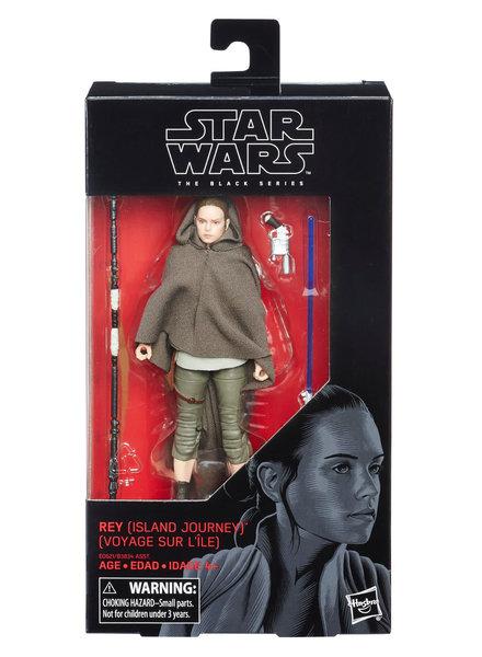Hasbro Star Wars Black Series: Rey (Island Journey)