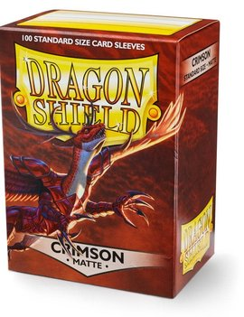 Dragon Shield Dragon Shield Matte 100Ct: Crimson