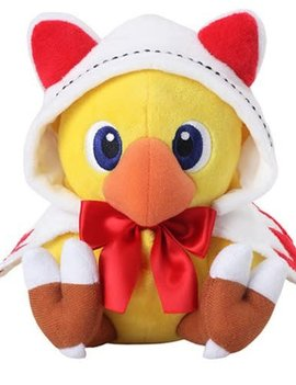 Final Fantasy Chocobo's Mystery Dungeon Every Buddy White Mage Plush