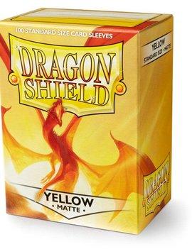 Dragon Shield Dragon Shield Matte 100Ct: Yellow
