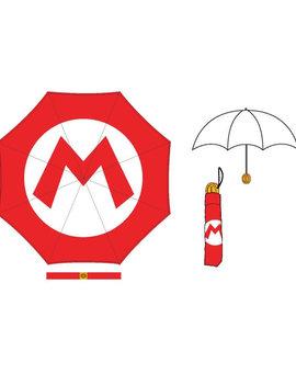 Bioworld Super Mario: Molded Coin Handle Umbrella