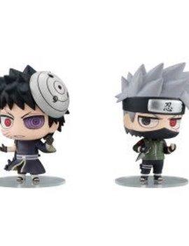 Megahouse Naruto Hatake Kakashi & Uchiha Obito Set
