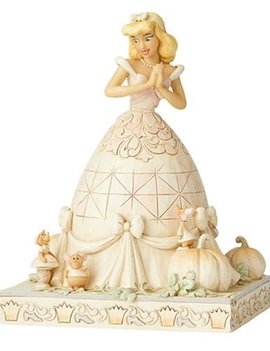 Disney Traditions Cinderella White Woodland Cinderella Darling Dreamer by Jim Shore Statue
