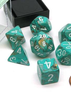 Chessex: Marble Oxi-copper/White Sets