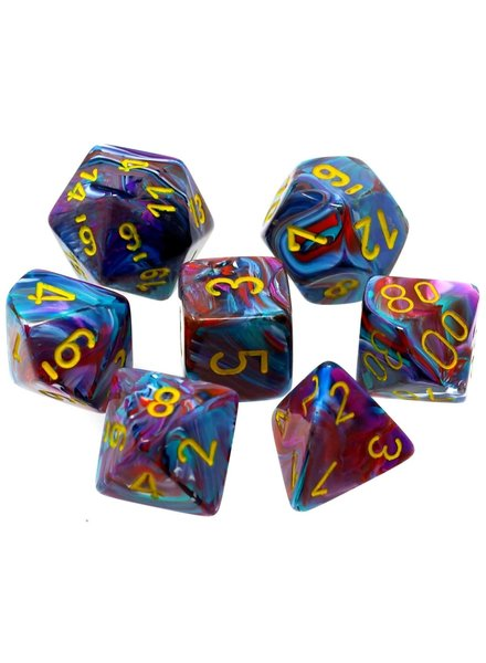 Chessex: Festive Mosaic With Yellow Sets
