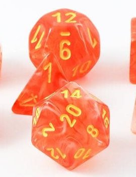 Chessex: Ghostly Glow Orange With Yellow Sets