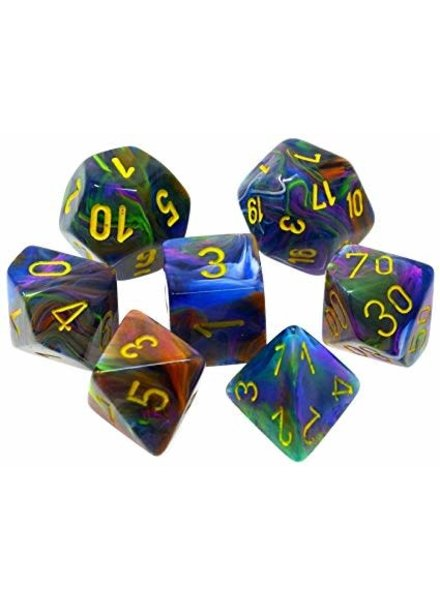 Chessex: Festive Rio With Yellow Sets