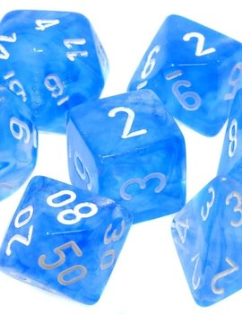 Chessex: Borealis Sky Blue/White Sets