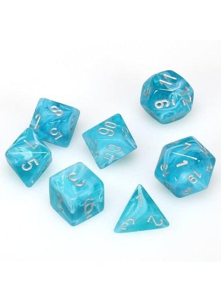 Chessex: Cirrus Aqua/Silver Sets