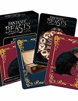 Aquarius Fantastic Beasts and Where to Find Them Creatures Playing Cards