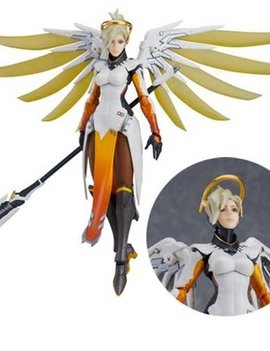 Good Smile Overwatch Mercy Figma Action Figure