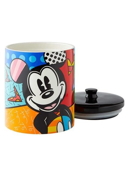 Disney Mickey Mouse Canister Cookie Jar by Romero Britto