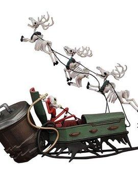 Nightmare Before Christmas Jack Skellington and Sleigh Action Figure Set