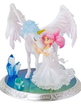 Figuarts Sailor Moon SH FiguartsZero Chouette Statue: Chibi-Usa and Helios