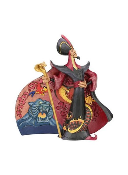 Disney Traditions Aladdin Jafar Villainous Viper by Jim Shore Statue
