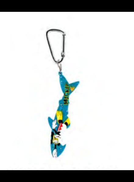 Mickey Mouse Diving Shark Bottle Opener Key Chain