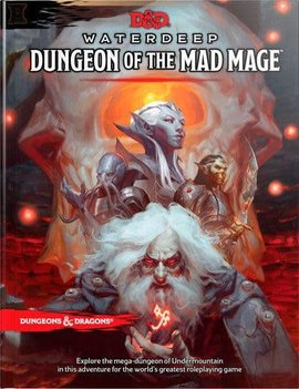 D&D 5E Adventures Dungeon Of The Mad Mage