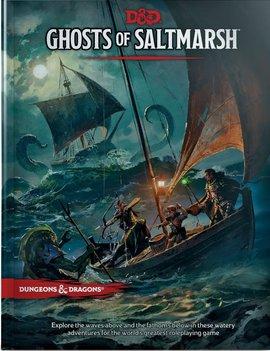 D&D 5E Adventures Ghosts of Saltmarsh