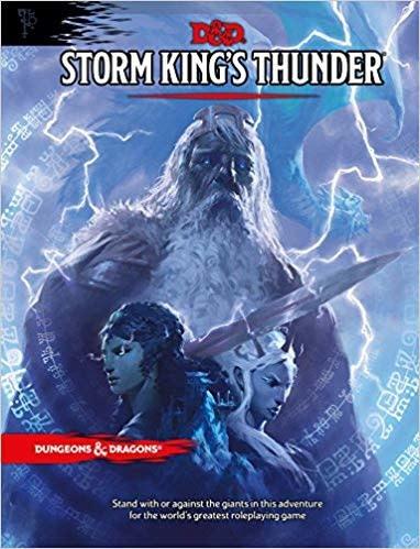 D&D 5E Adventures Storm King's Thunder