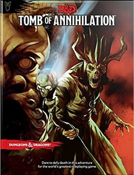 WizardsOfTheCoast D&D 5E Adventure: Tomb of Annihilation