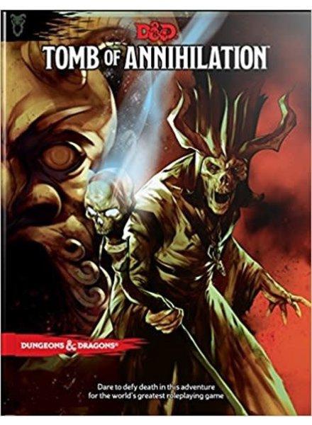 D&D 5E Adventures Tomb Of Annihilation
