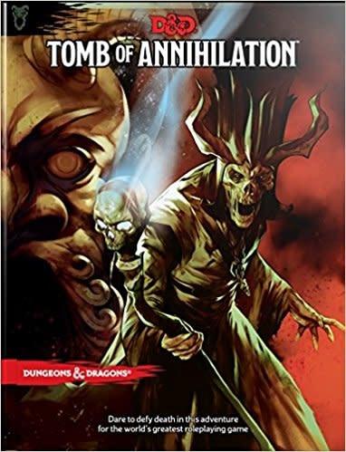 WizardsOfTheCoast D&D 5E Adventure: Tomb of Annihilation