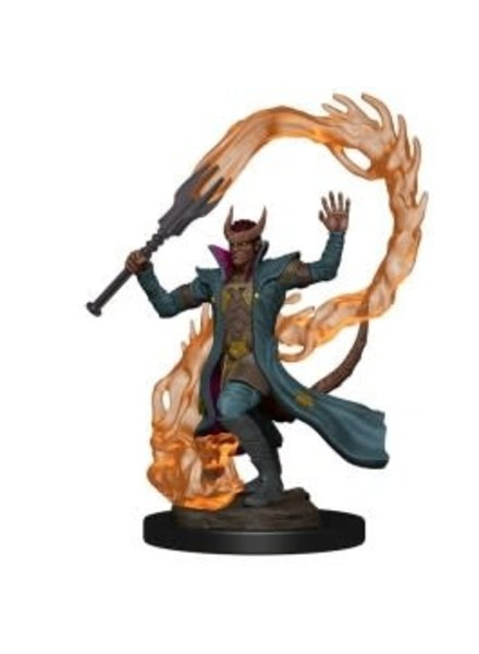 WizKids D&D Icons of the Realms Premium Figures: Tiefling Male Sorcerer