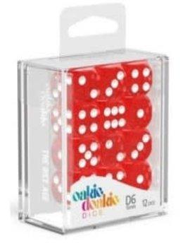 Oakie Doakie Dice Oakie Doakie Dice - D6 12CT. Speckled Red