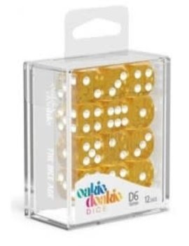 Oakie Doakie Dice Oakie Doakie Dice - D6 12CT. Speckled Orange