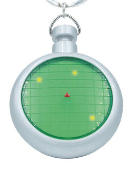 Dragon Ball Z Radar Key Chain