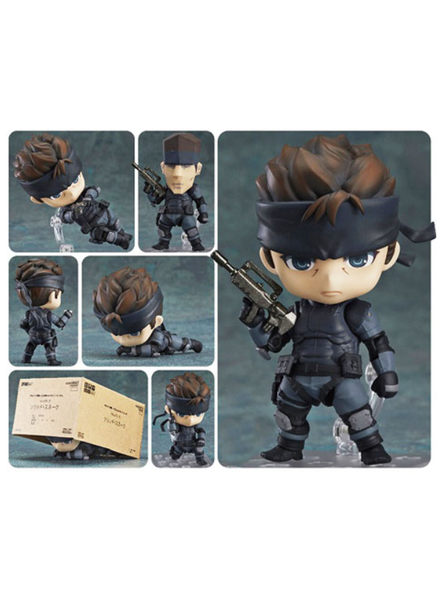 Good Smile Metal Gear Solid Solid Snake Nendoroid Figure