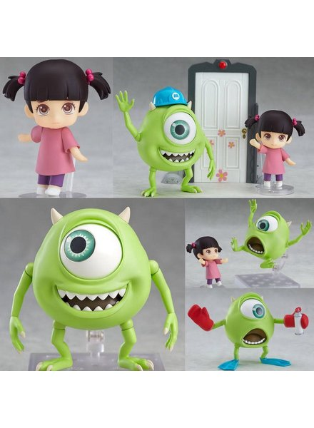 Good Smile Monsters Inc. Mike and Boo Nendoroid Deluxe Action Figures