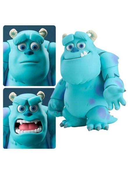 Good Smile Monsters Inc. Sulley Nendoroid Deluxe Action Figure